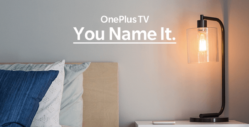 OnePlus Competition Lets You Name and Win its Upcoming Smart TV