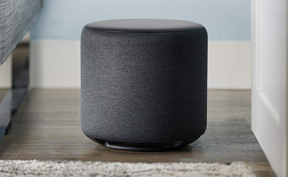 Amazon steps into the premium home audio game with the Echo Sub