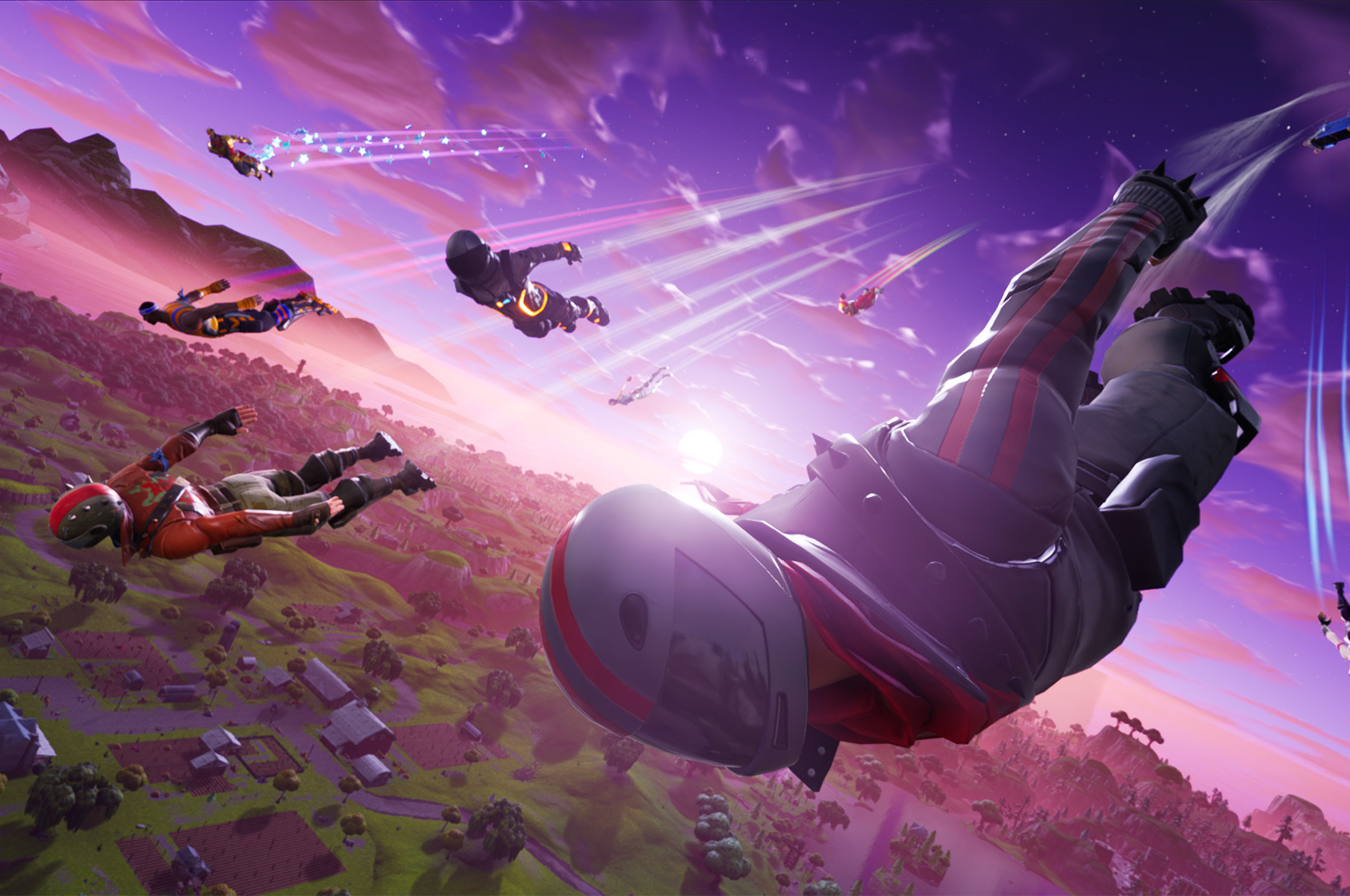 Fortnite Fall Skirmish detailed, 78.3 million players served in August