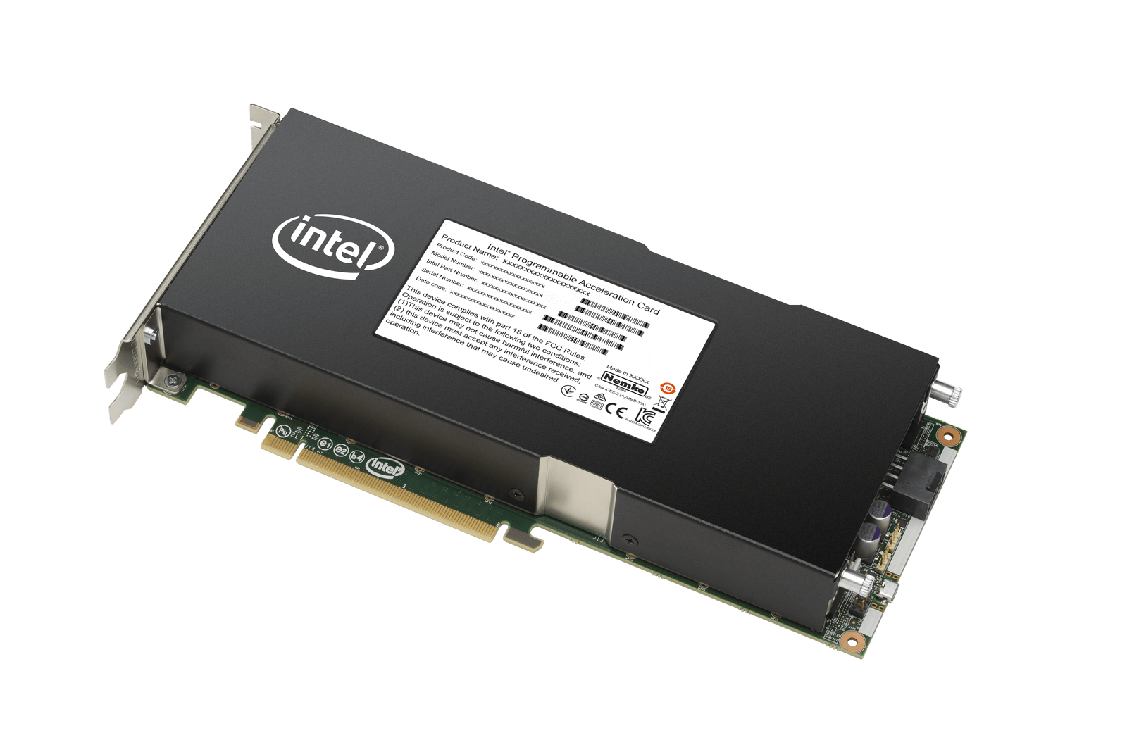 Intel Stratix 10 programmable acceleration card offers enormous