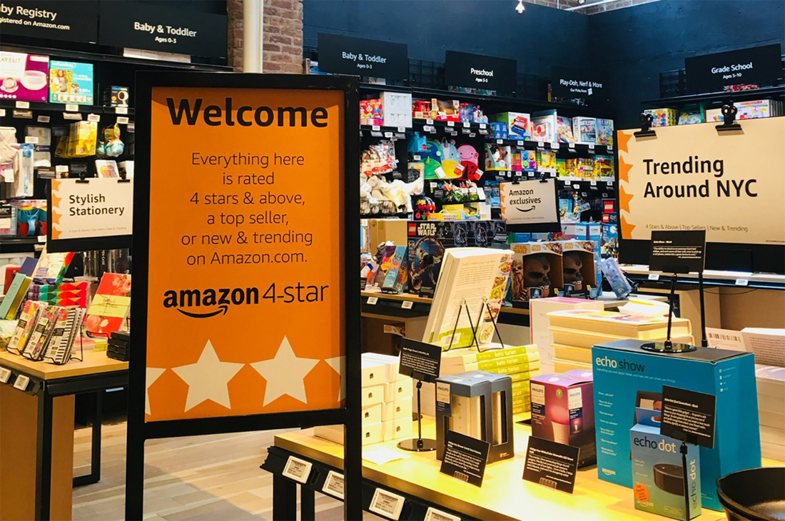 Amazon is opening a brick-and-mortar store in New York featuring its best-selling products