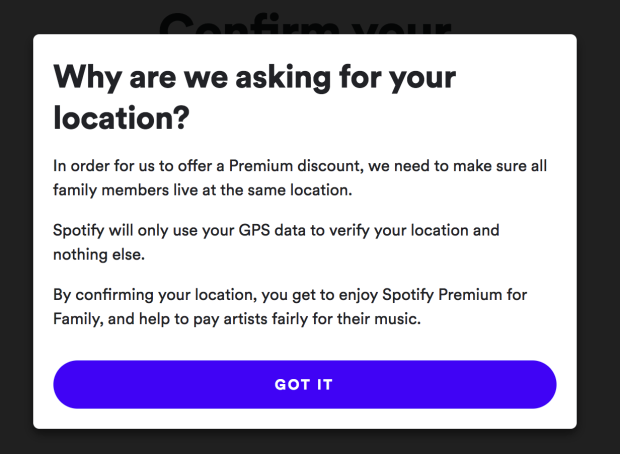 spotify cracking down on family plans