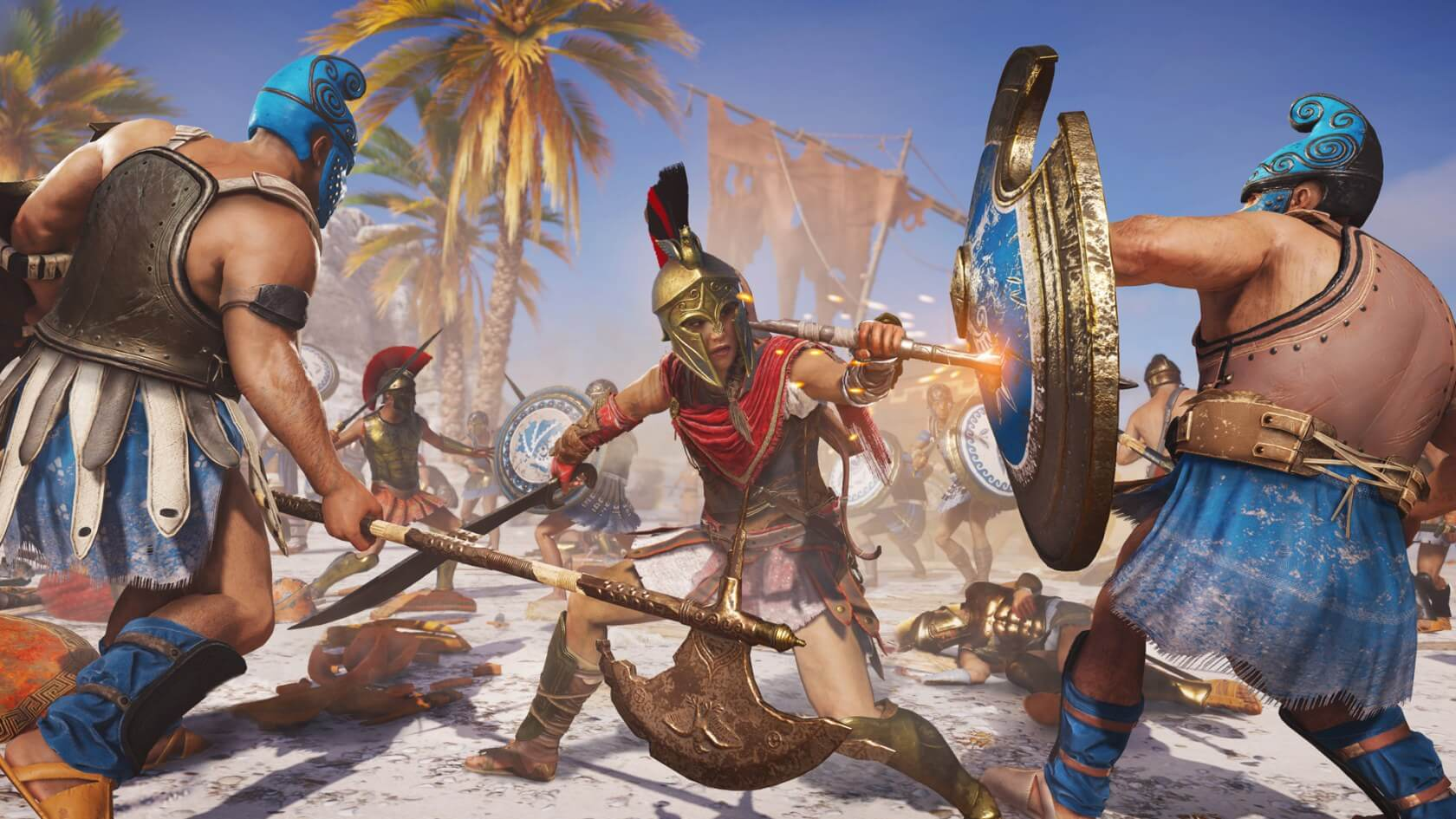 Ubisoft says massive crunch wasn't needed to develop Assassin's Creed Odyssey