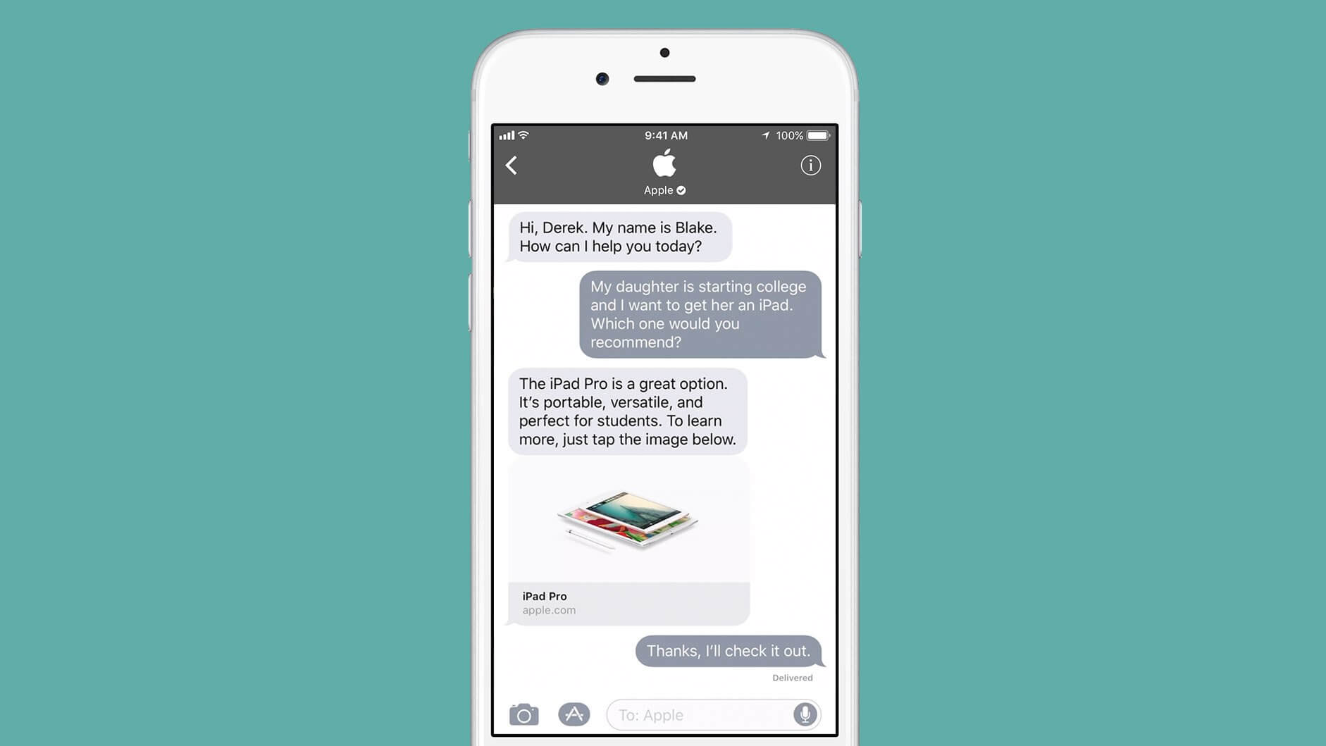 Apple expands Business Chat to international firms in 10 countries