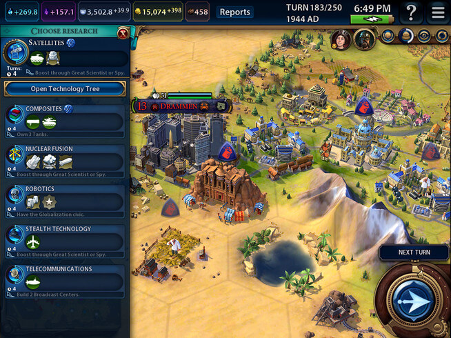 Sid Meier's Civilization VI works on iPhones fairly well - TechSpot