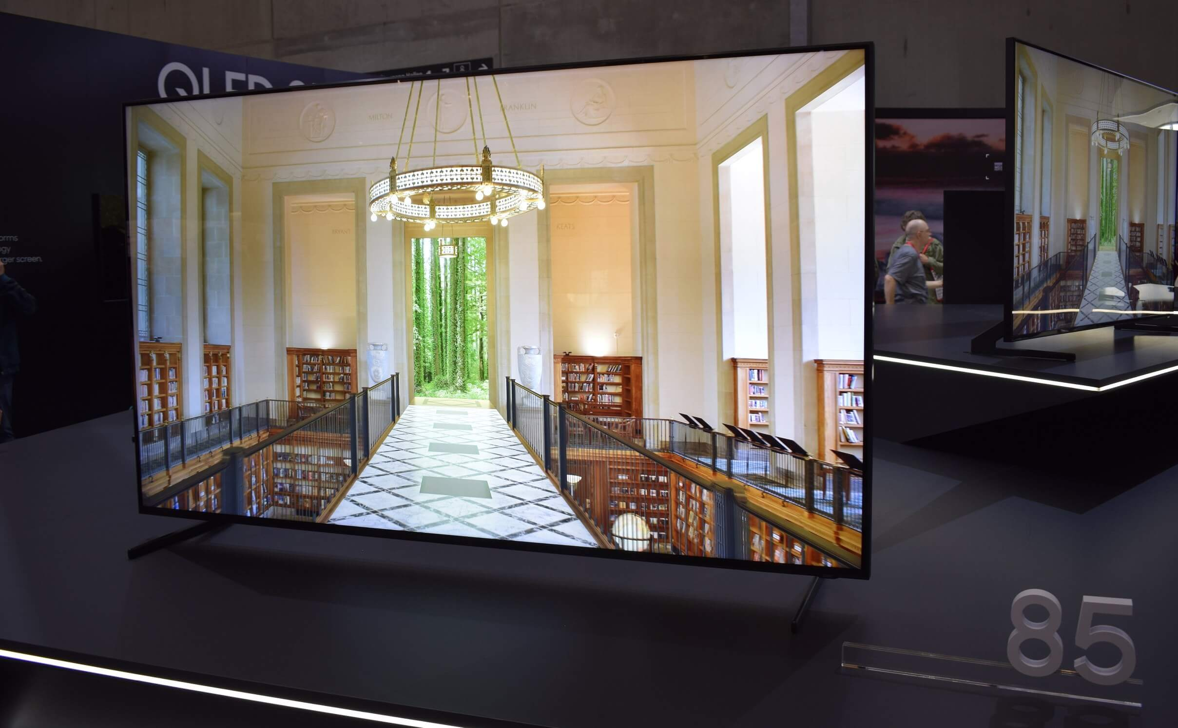 Samsung's 85-inch 8K QLED TV can now be pre-ordered for $15,000