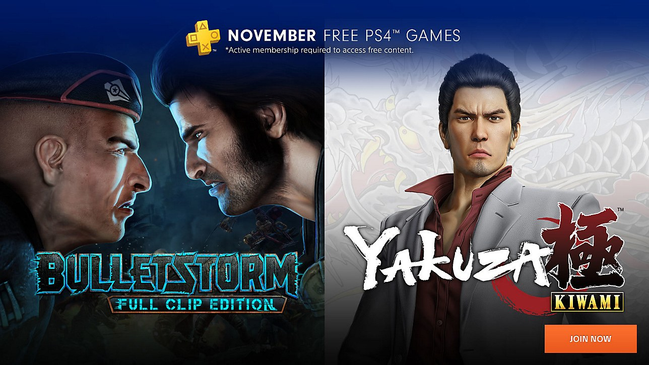 Sony accidentally leaked November's PS Plus free games