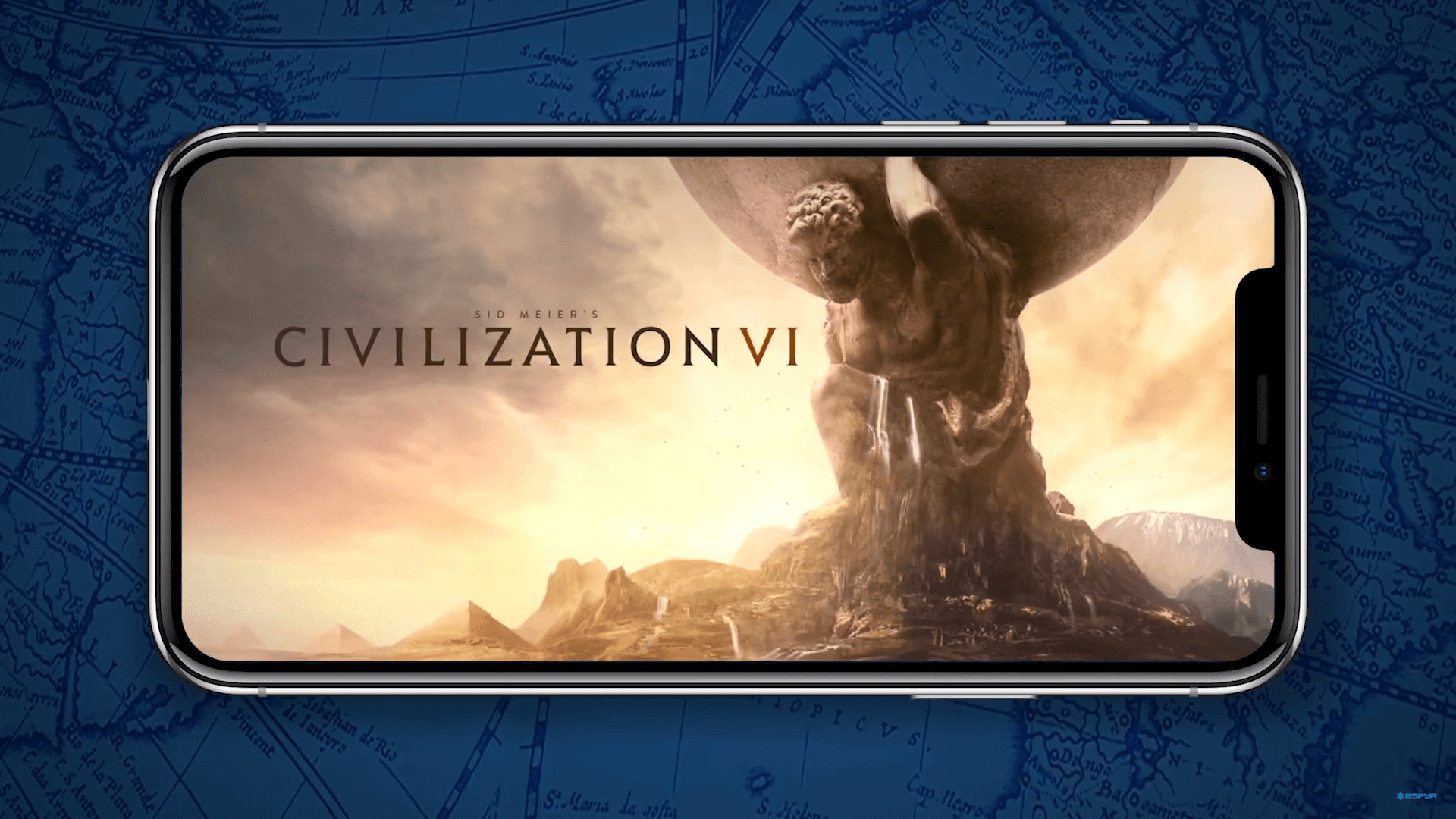 Sid Meier's Civilization VI works on iPhones fairly well
