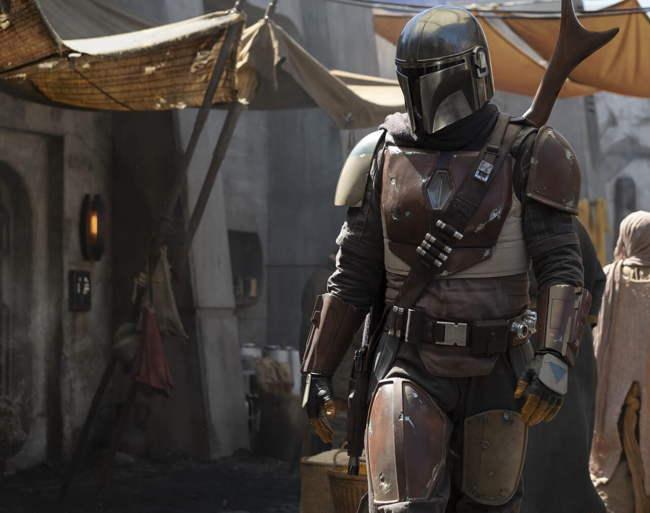 The first image from the new Star Wars series The Mandalorian is revealed