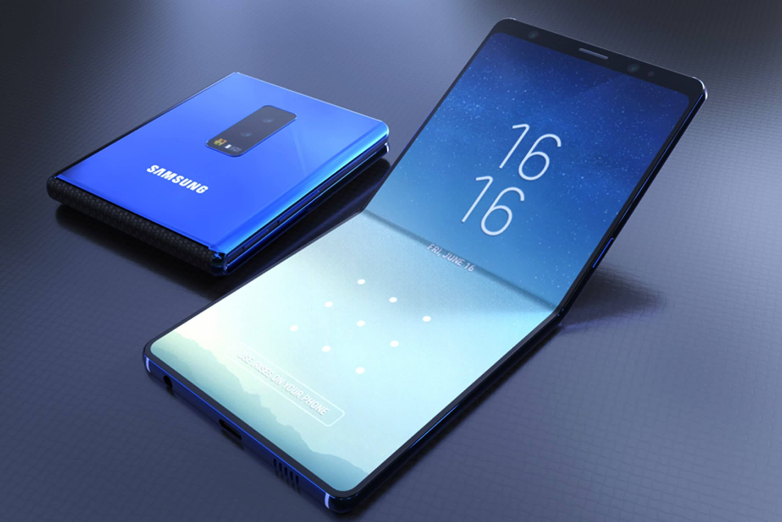 Samsung's much-hyped foldable smartphone delayed again