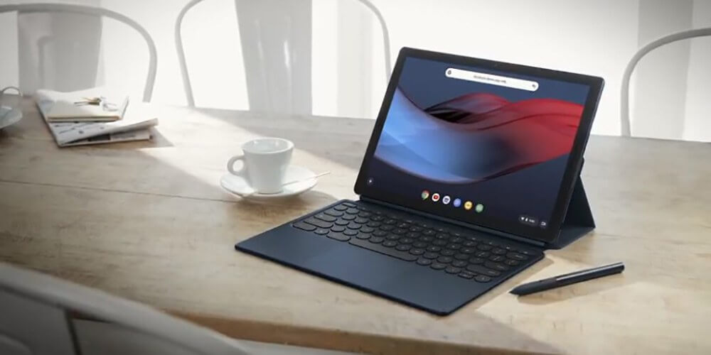 Pixel Slate hybrid tablet showcased at Made By Google event