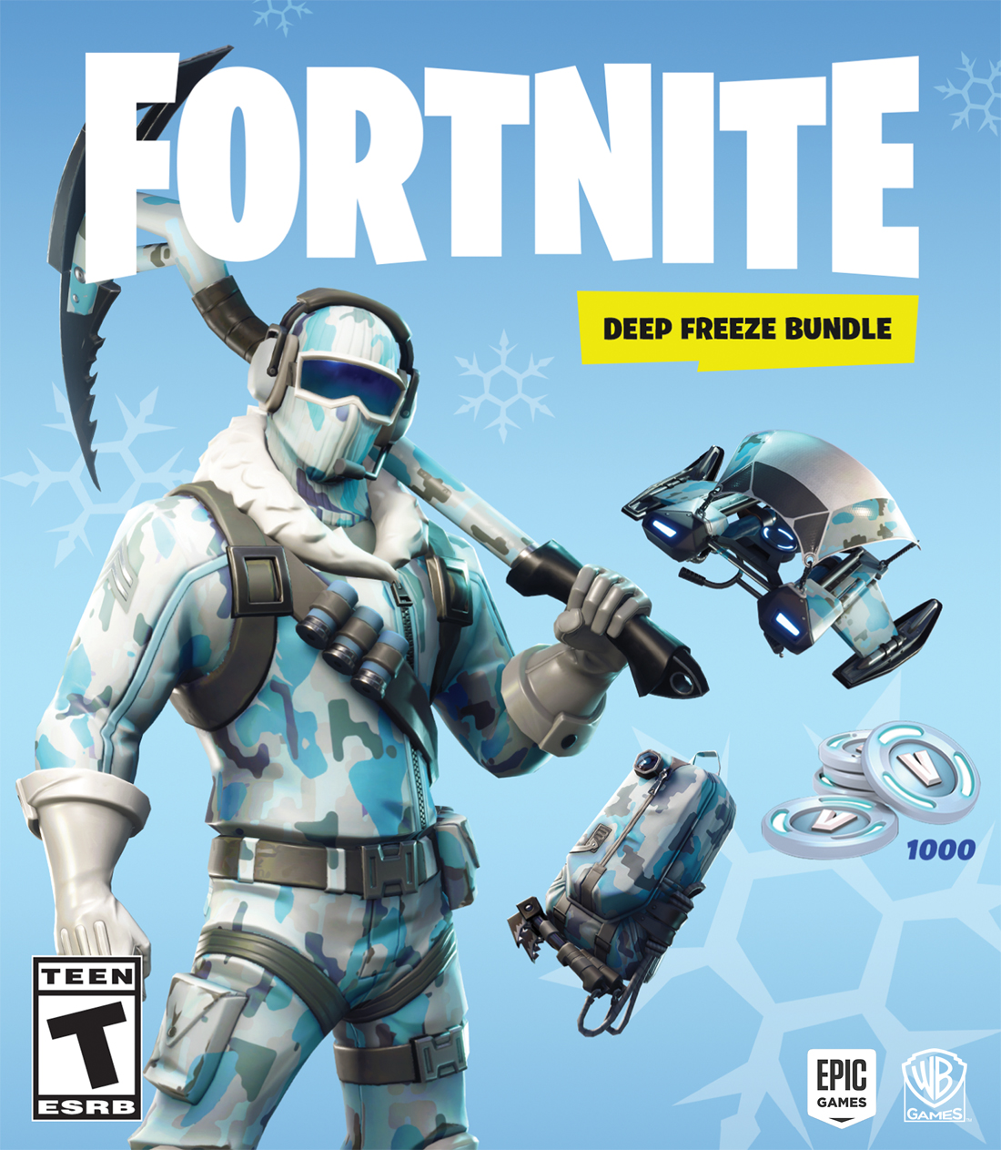Fortnite: Deep Freeze Bundle with exclusive in-game content launching in November