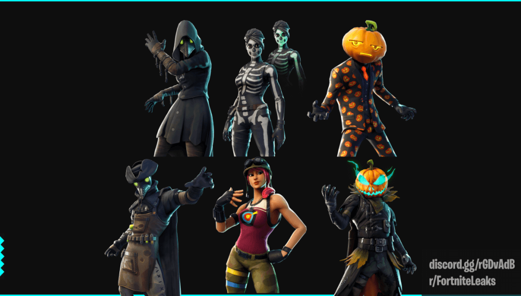Rare Halloween Skins Fortnite.Fortnite Patch V6 02 Data Miners Dug Into It And Found