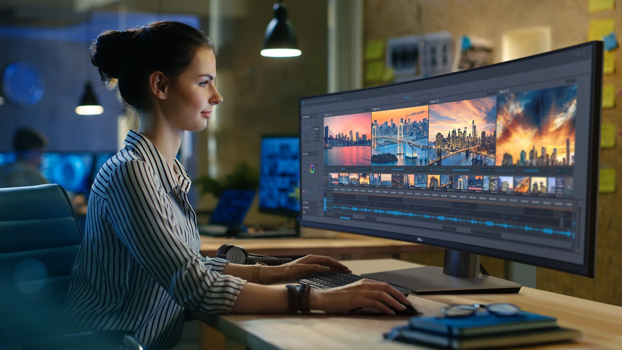 Dell Goes Ultra-Wide With U4919DW 49-inch Dual QHD Professional Monitor