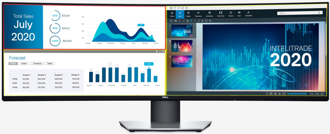 Dell announces 49-inch ultra-wide monitor with QHD