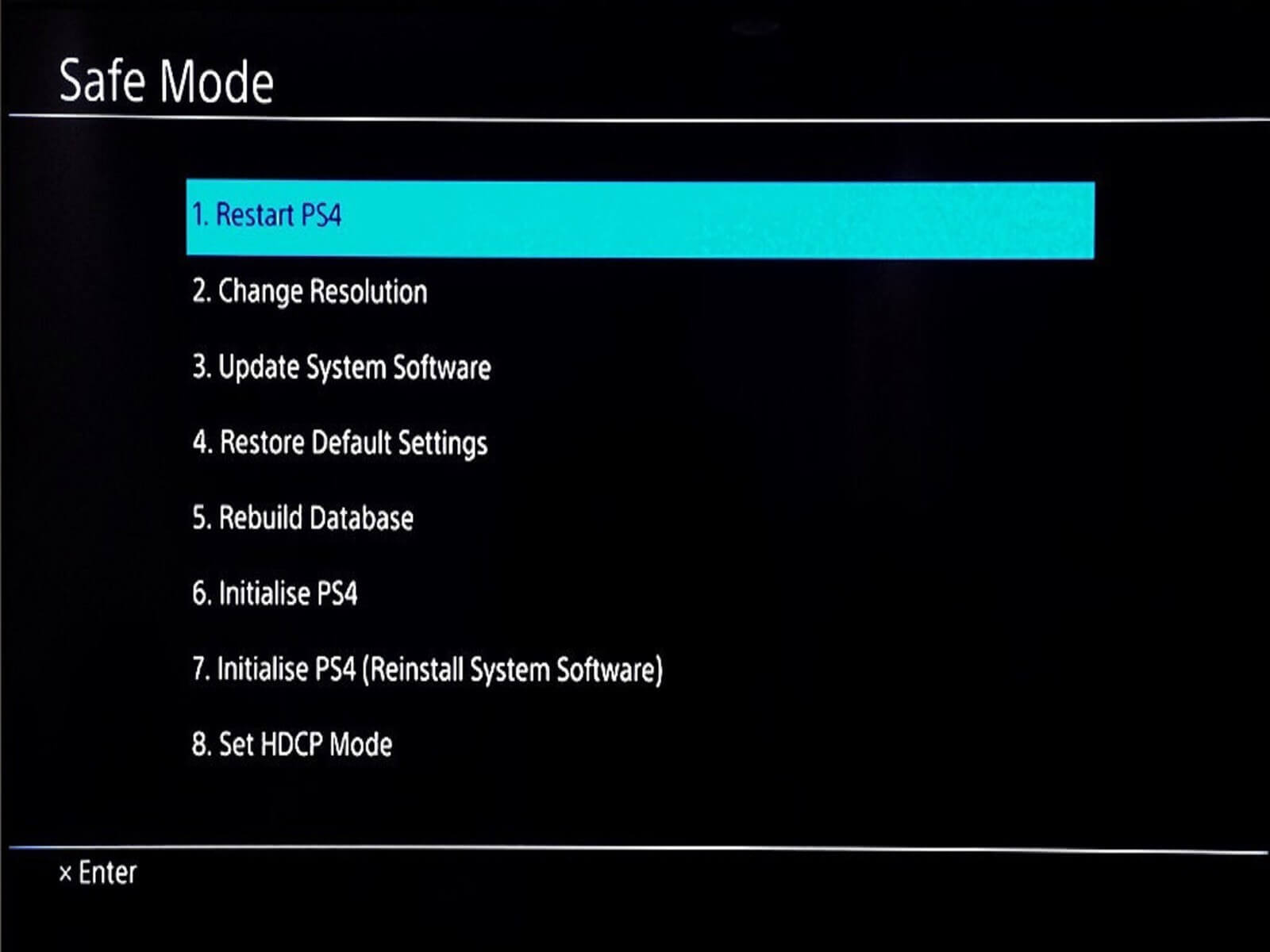 How to fix your PlayStation 4 if it was locked up by the