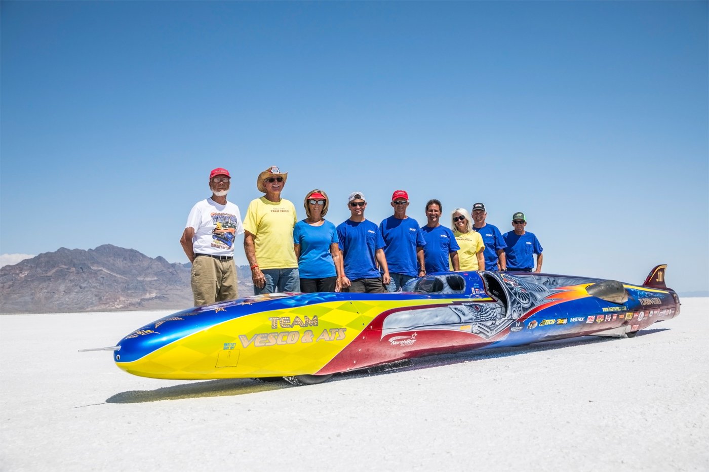 Turbinator II Smashes 500 Mph Barrier at Bonneville