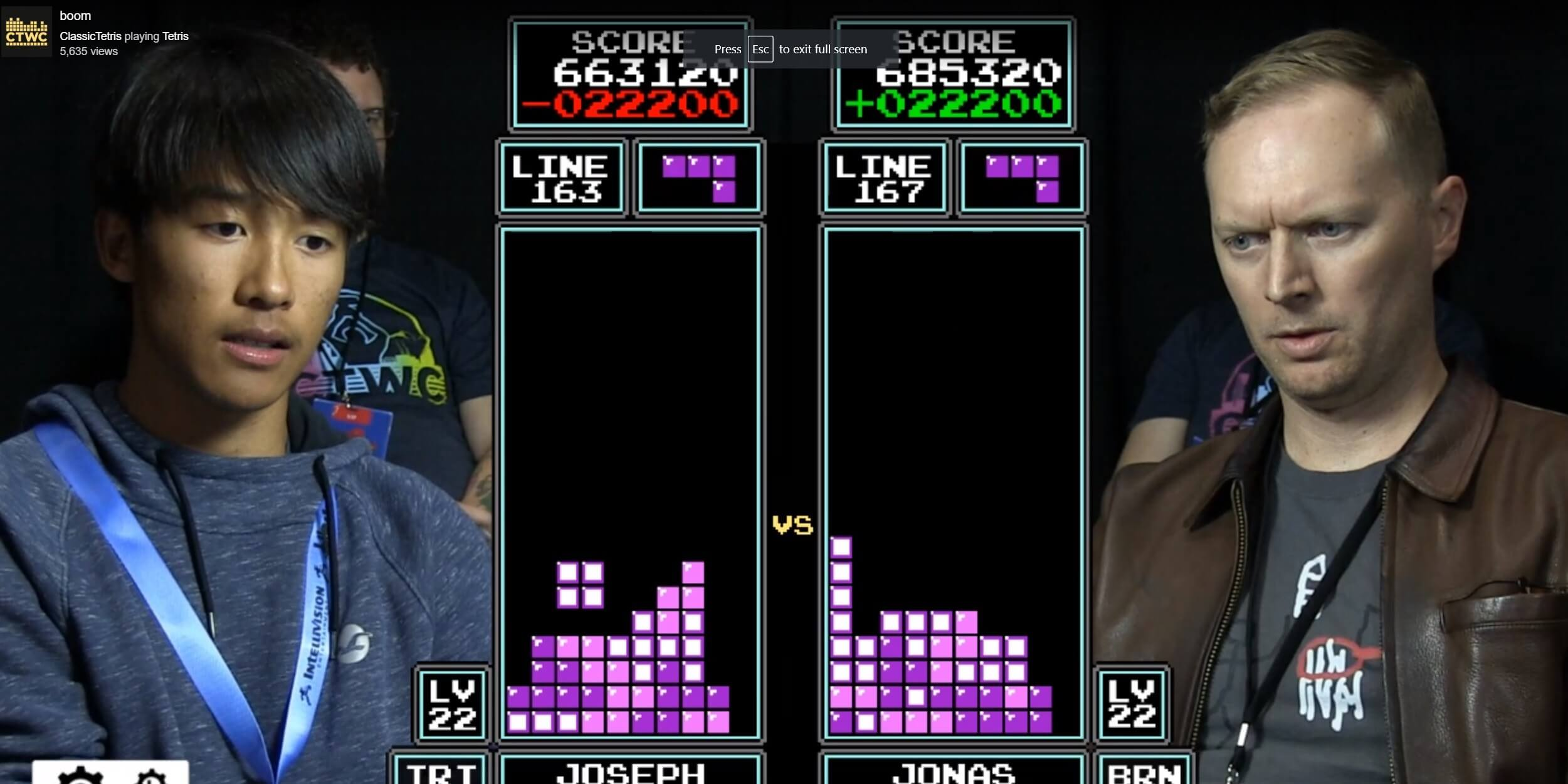 16-Year-Old 'Tetris' Player Defeats 7-Time Champion