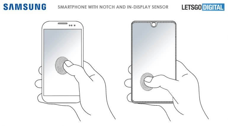 Samsung patent shows off full-screen fingerprint scanner, phone with