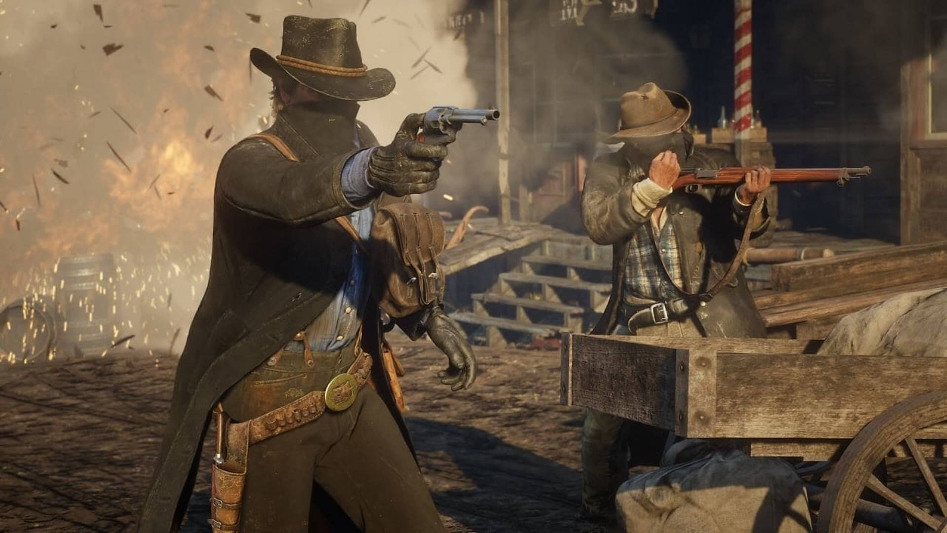 Red Dead Redemption 2 Review Round Up Rockstar S Horse Opera Will
