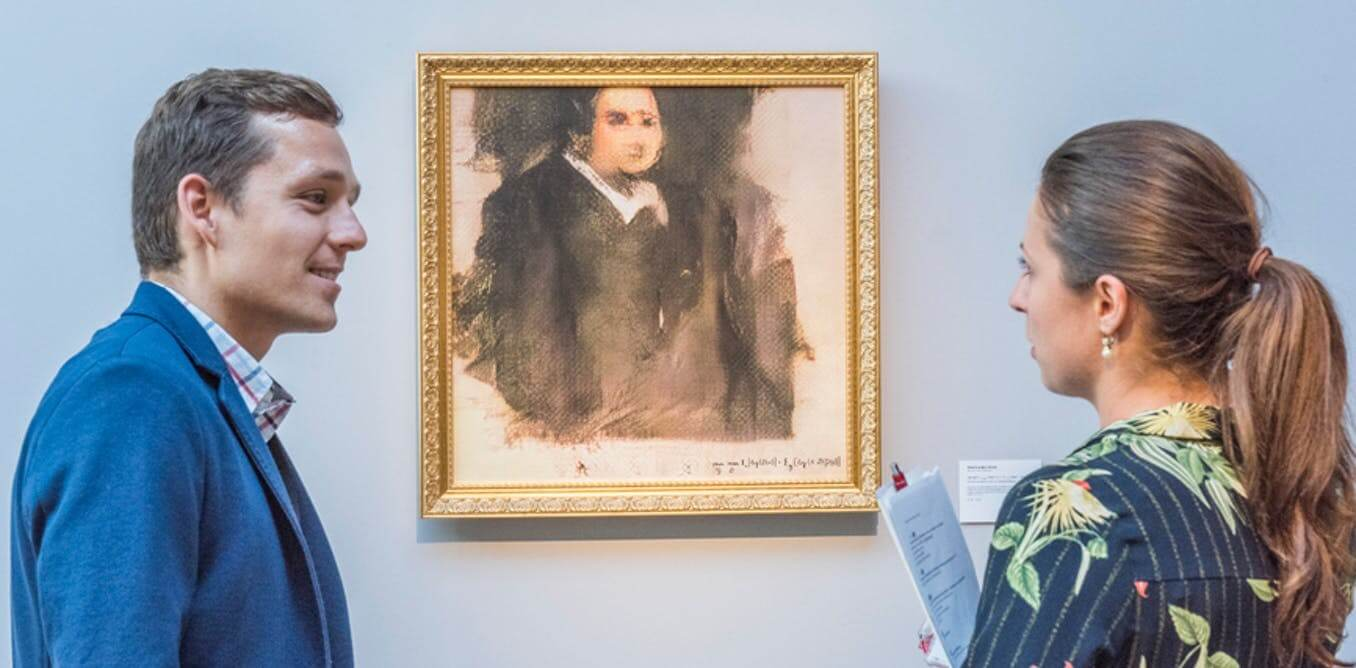 AI-generated portrait sells for $432,500 at auction