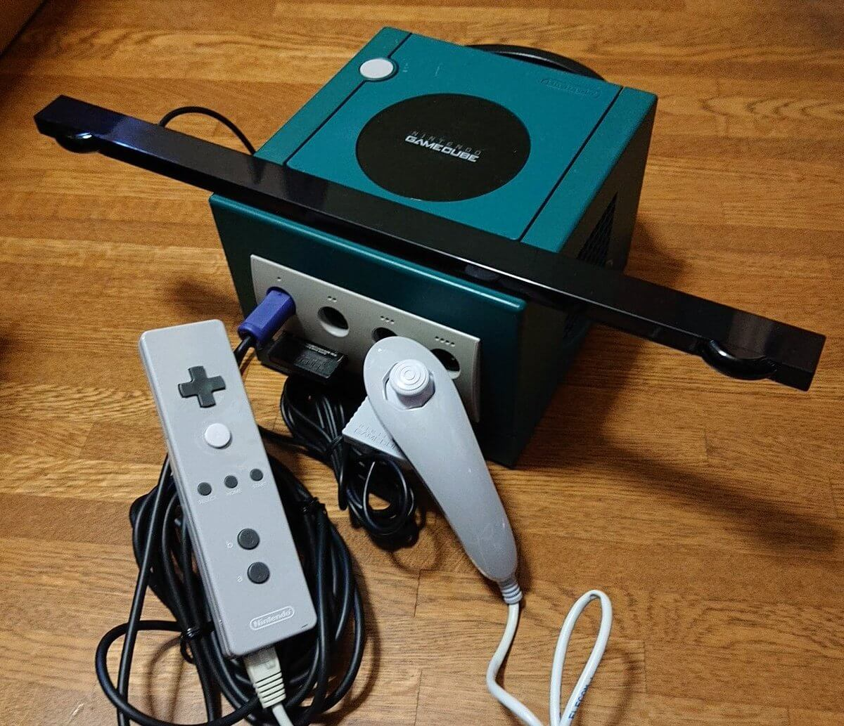 Do Wii Component cables work with Gamecube? - GameCube