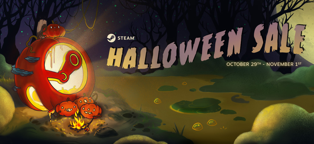 Steam's Halloween Sale is live, but only until November 1