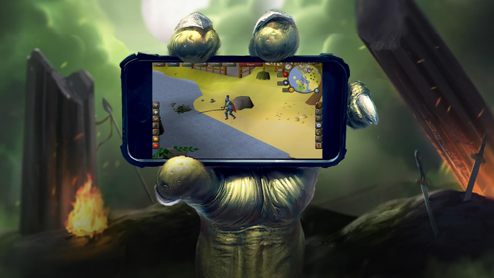 Old School RuneScape is now free to play on iOS and Android devices