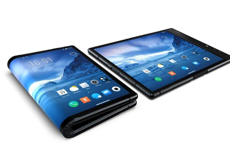 First foldable phone launched, seems as awful as it is expensive