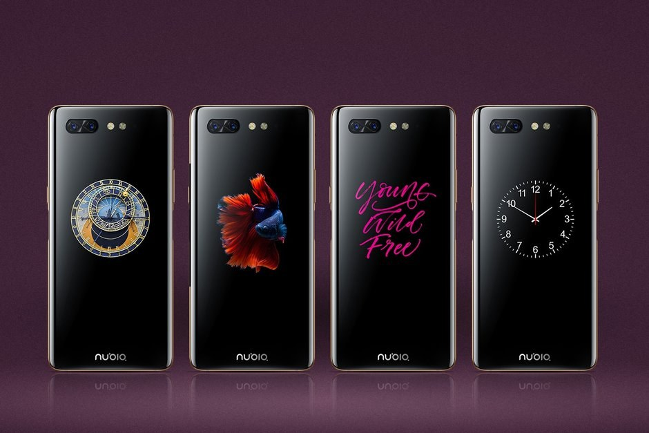 Check out the Nubia X: a notch-free phone with a second display on