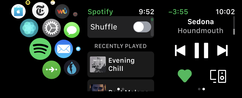 Spotify's watchOS apps began rolling out to beta testers