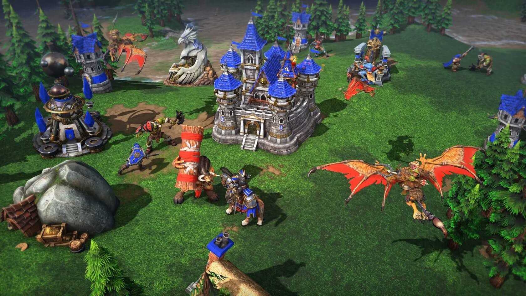 c05b7fda5246 Blizzard announces long-awaited Warcraft 3 remaster at Blizzcon ...
