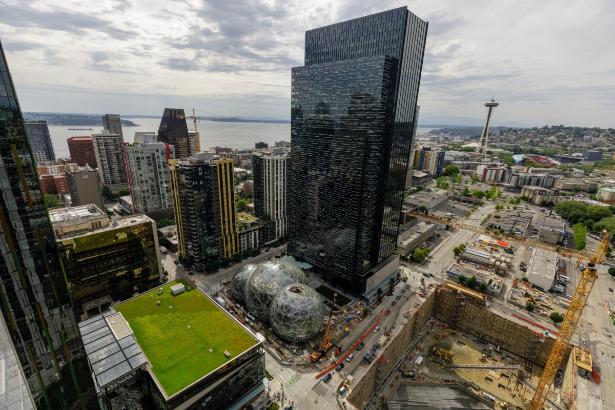Amazon's second headquarters could be split across two locations
