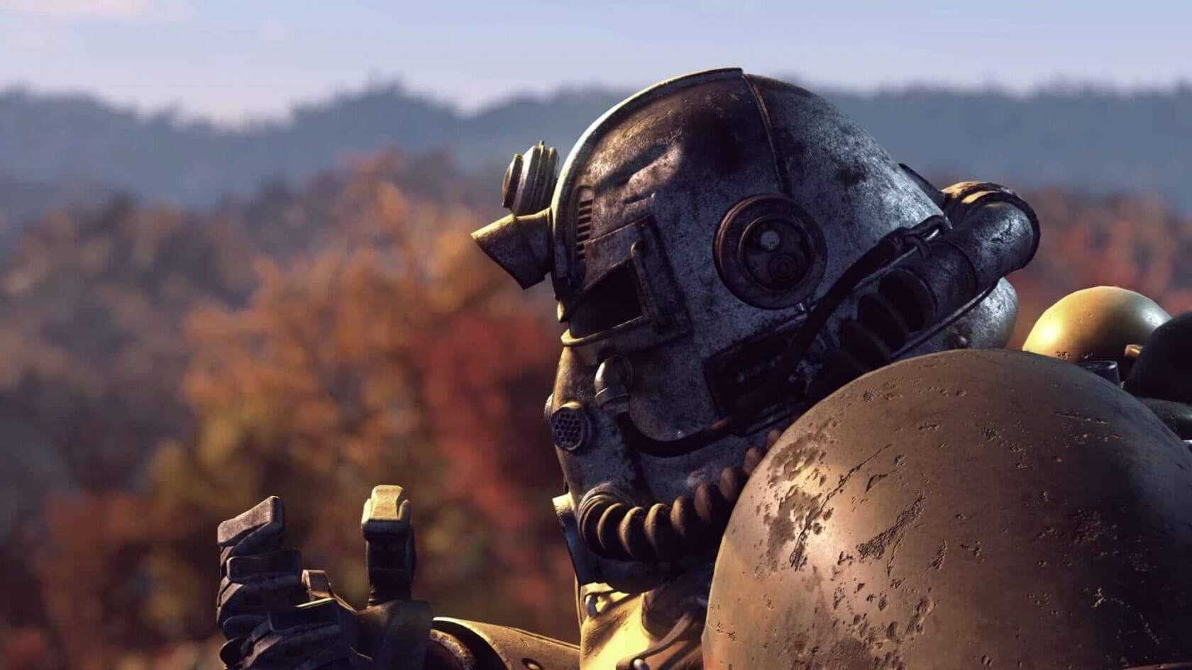 Fallout 76's Countdown to Launch Offers Free PSN Swag, Power Armor Giveaway