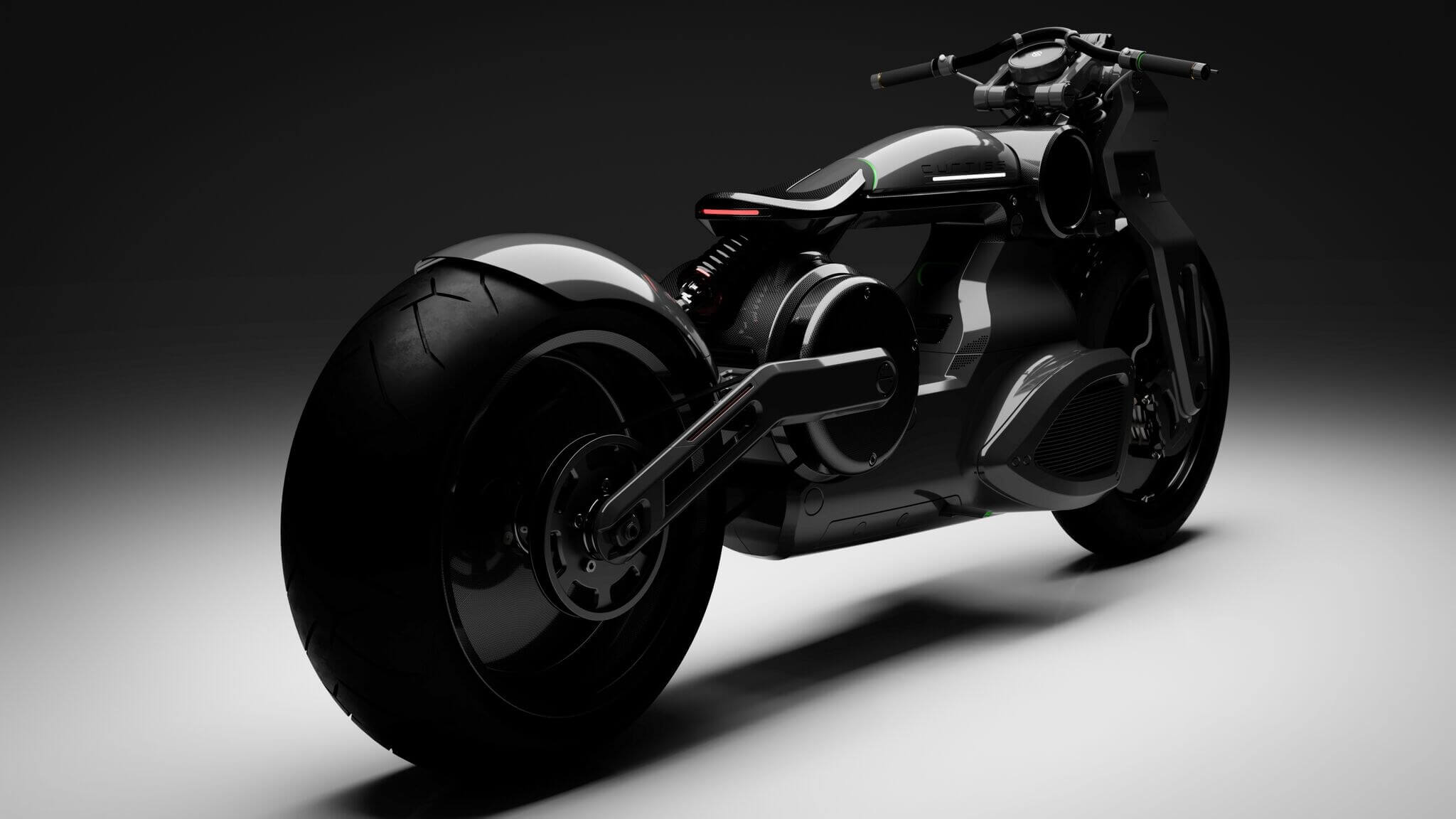 Curtiss unveils its 'Zeus' electric motorcycles, capable of