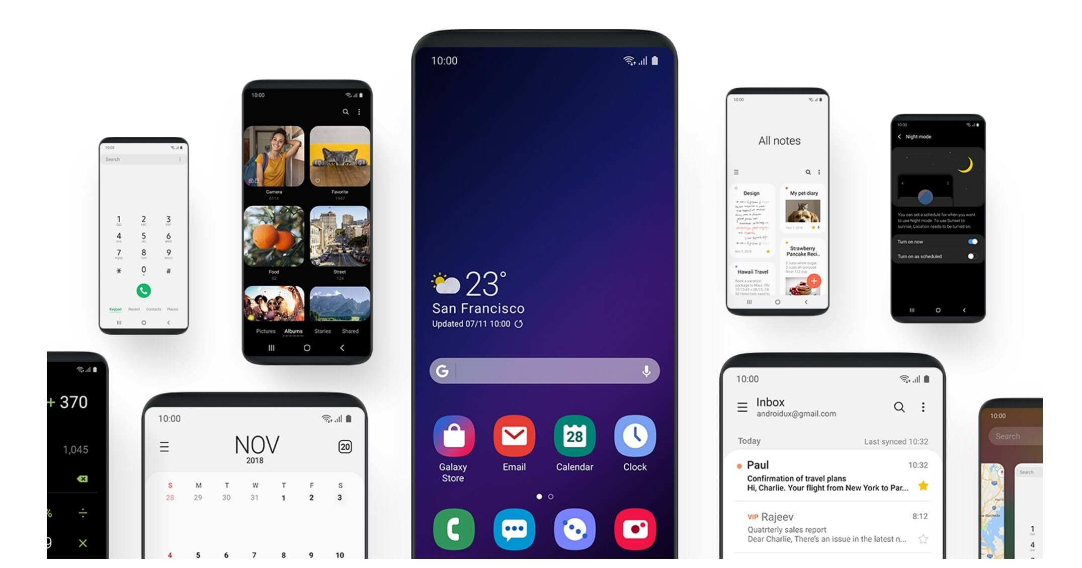 Samsung's One UI skin makes using large Galaxy handsets easier