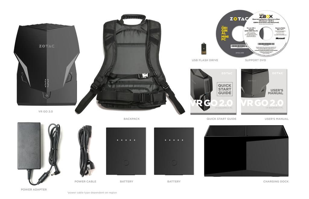 Zotac Revamps its VR Backpack with New CPU and Features