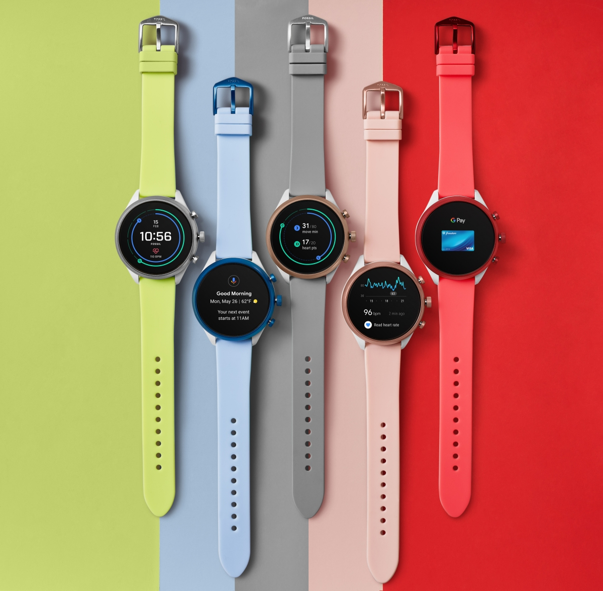 Fossil launches Sport Smartwatch powered by Snapdragon Wear 3100 platform and Wear OS