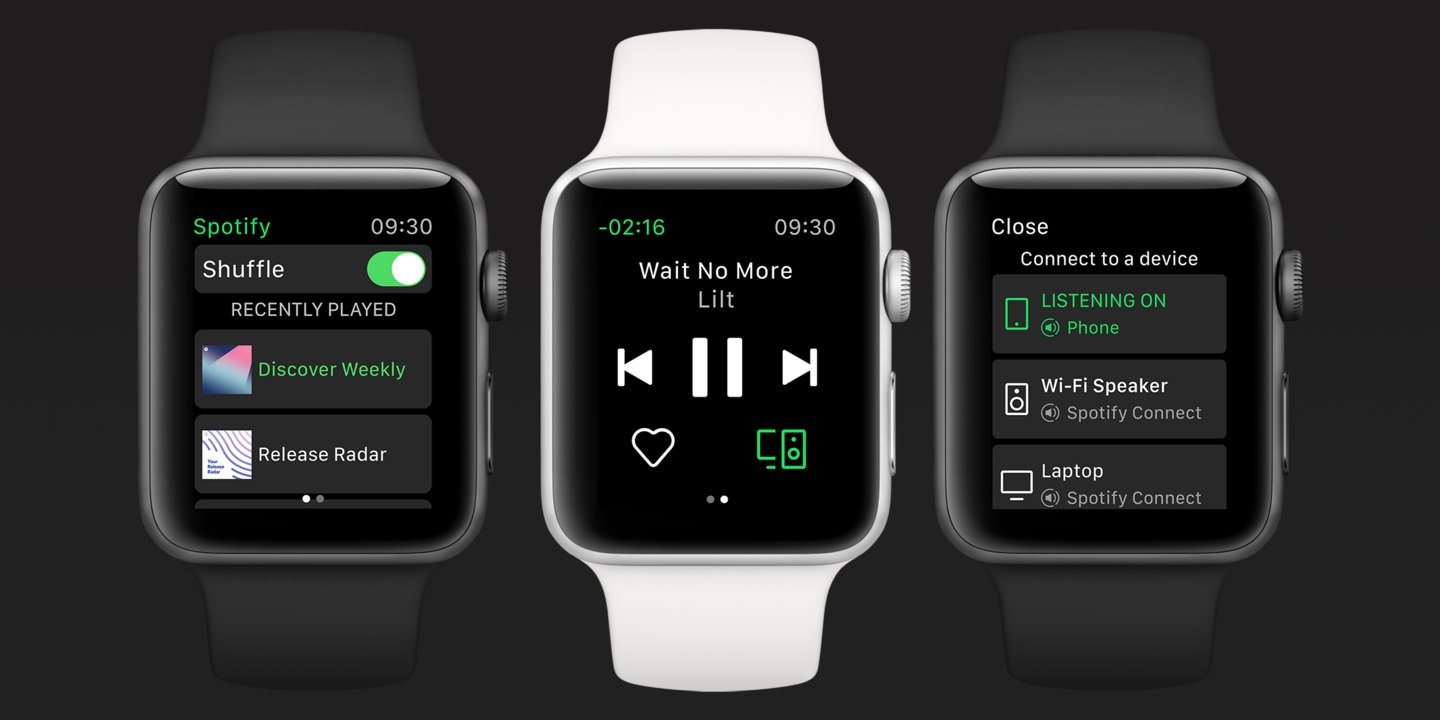 Spotify finally comes to the Apple Watch