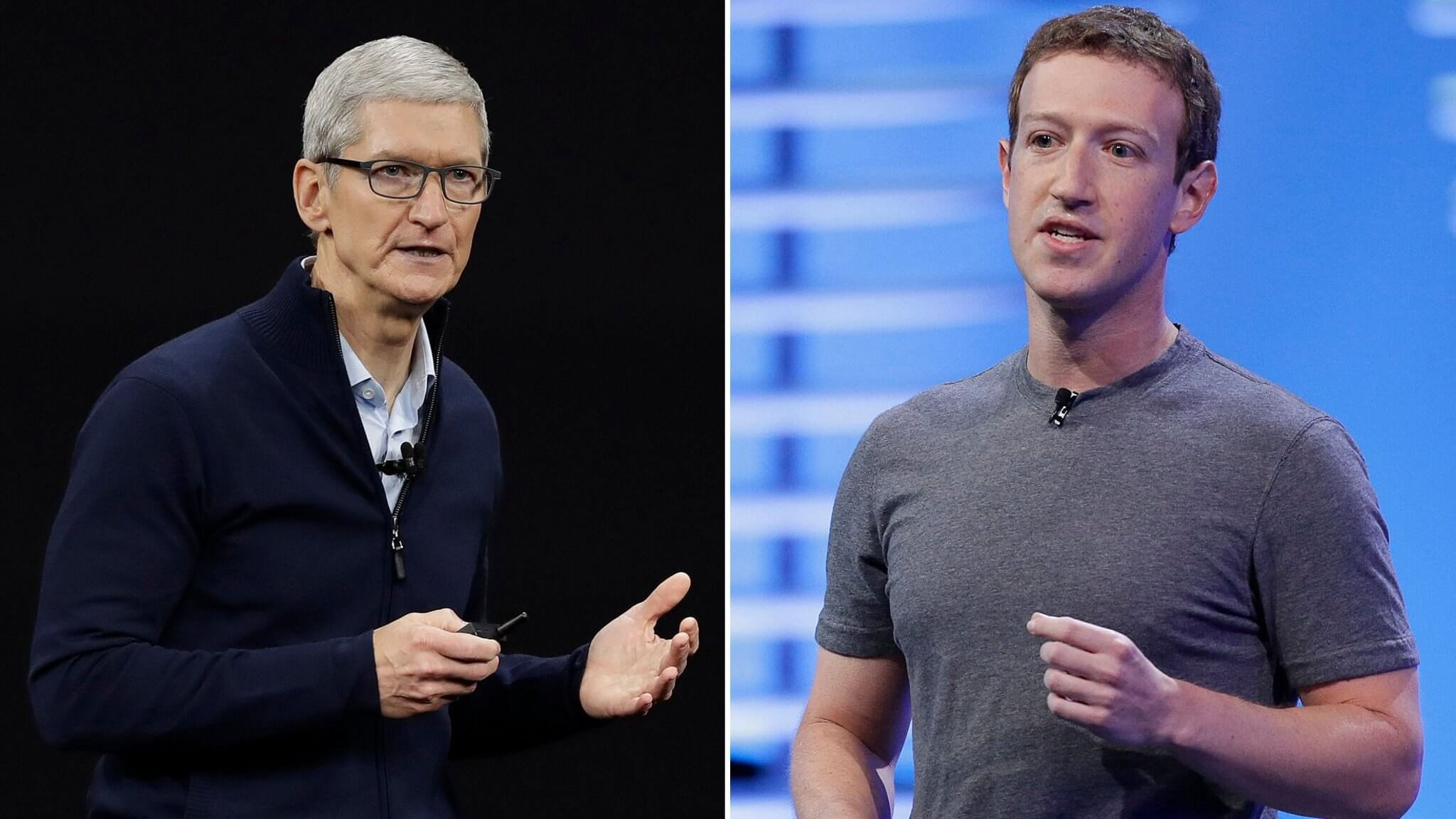 Zuckerberg Vs. Cook: CEOs Continue their Subtle Feud Over Business Philosophies