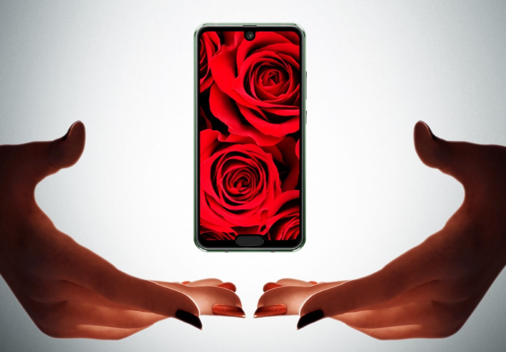 Sharp unveils dual-notch phone