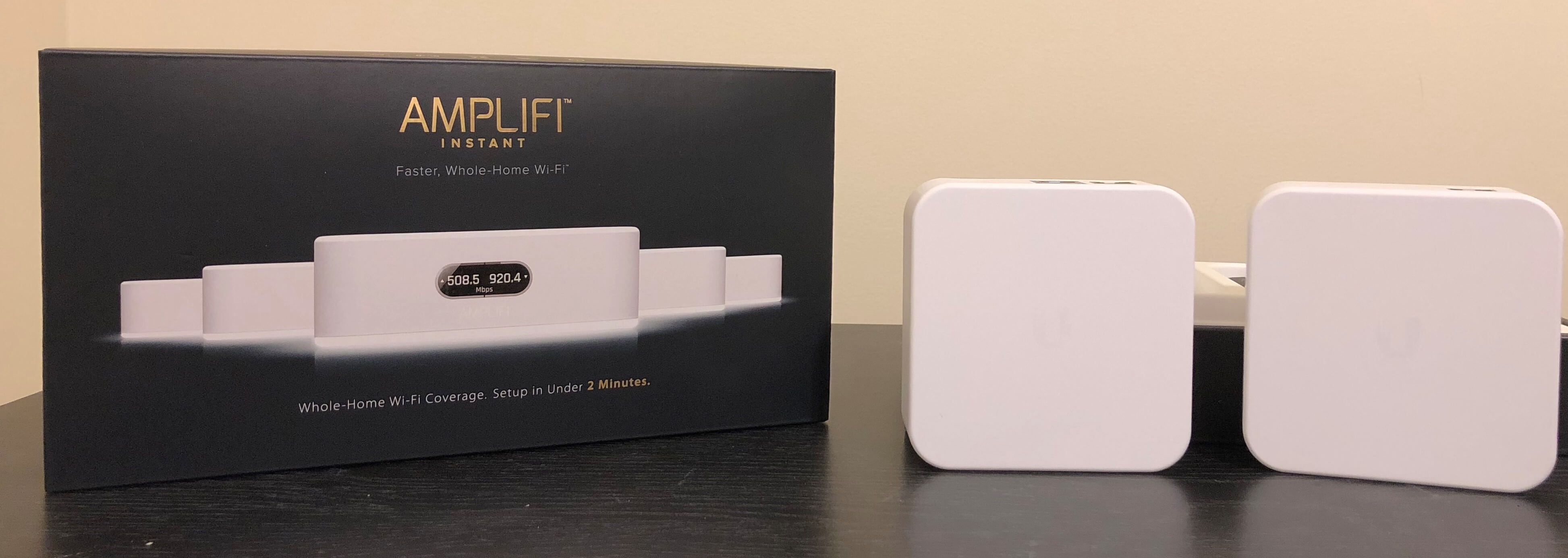 First impressions of the Ubiquiti Amplifi Instant