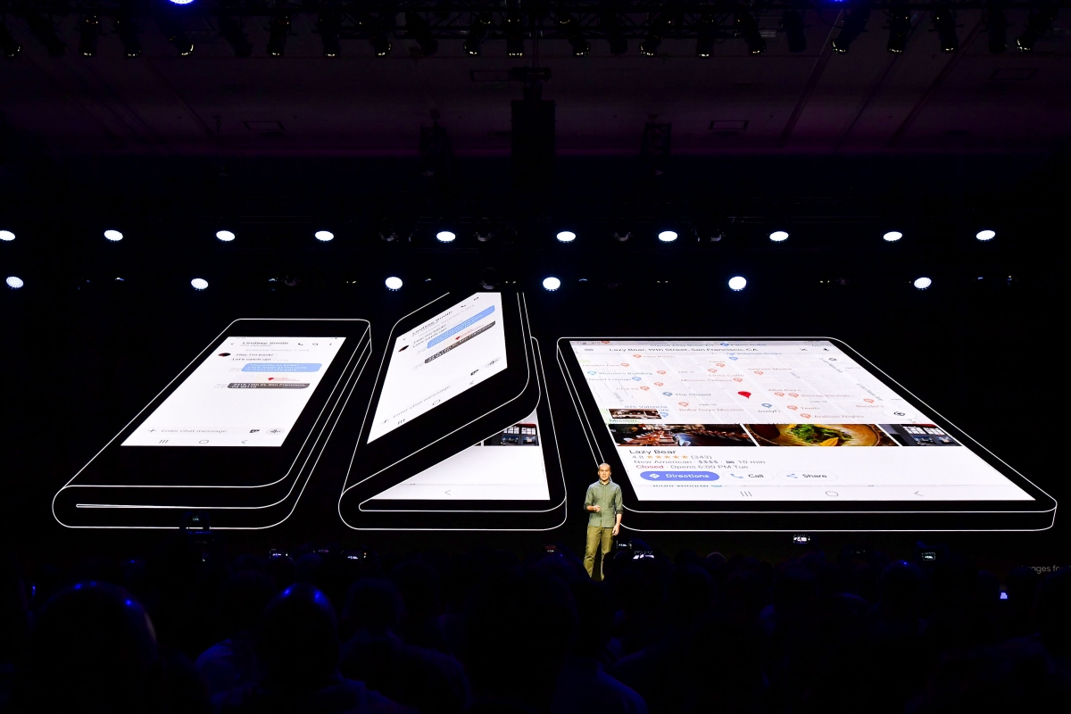 Samsung's folding screen tech stolen and sold to China