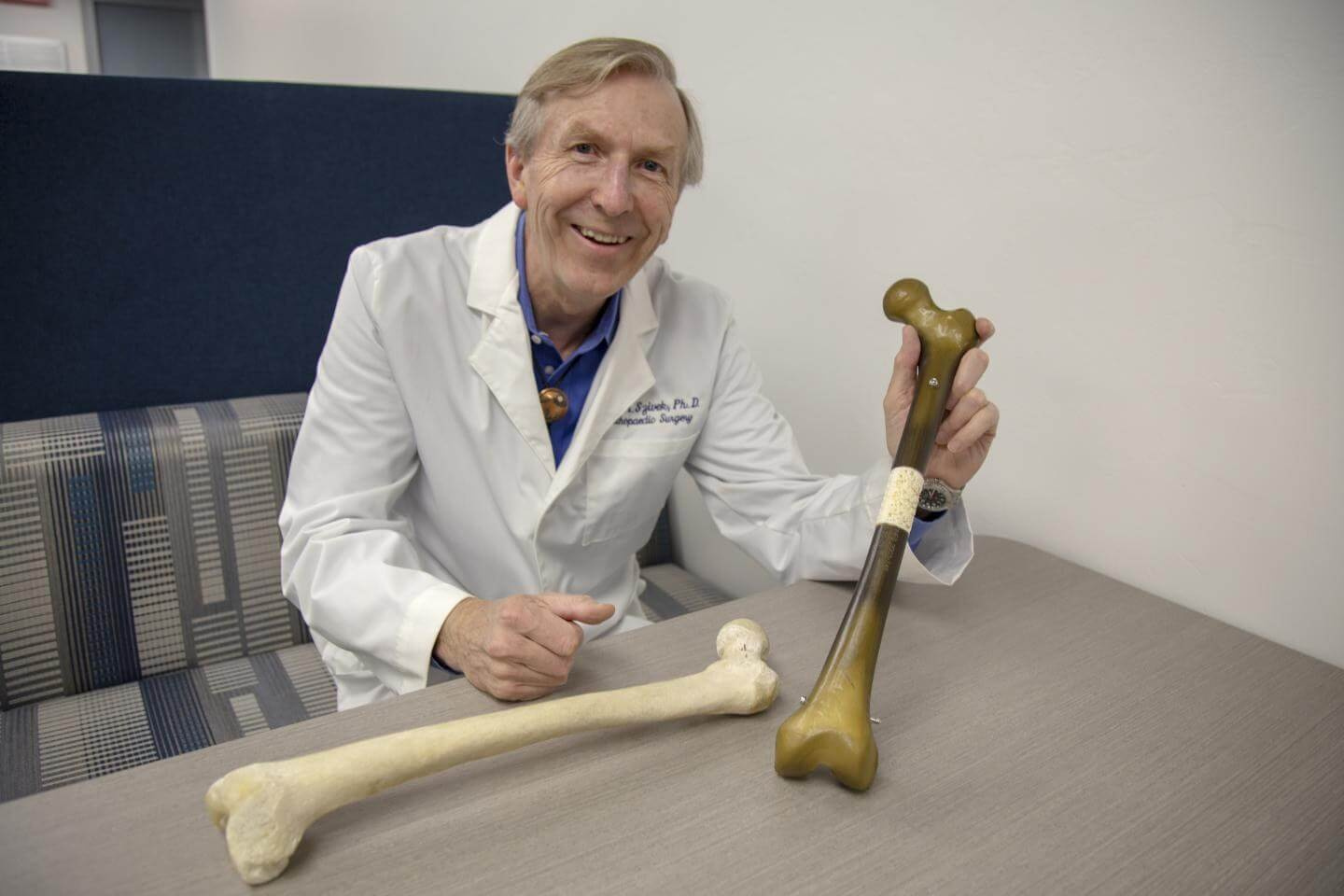 DoD-funded study will use 3D printing to help regrow damaged bones in military personnel