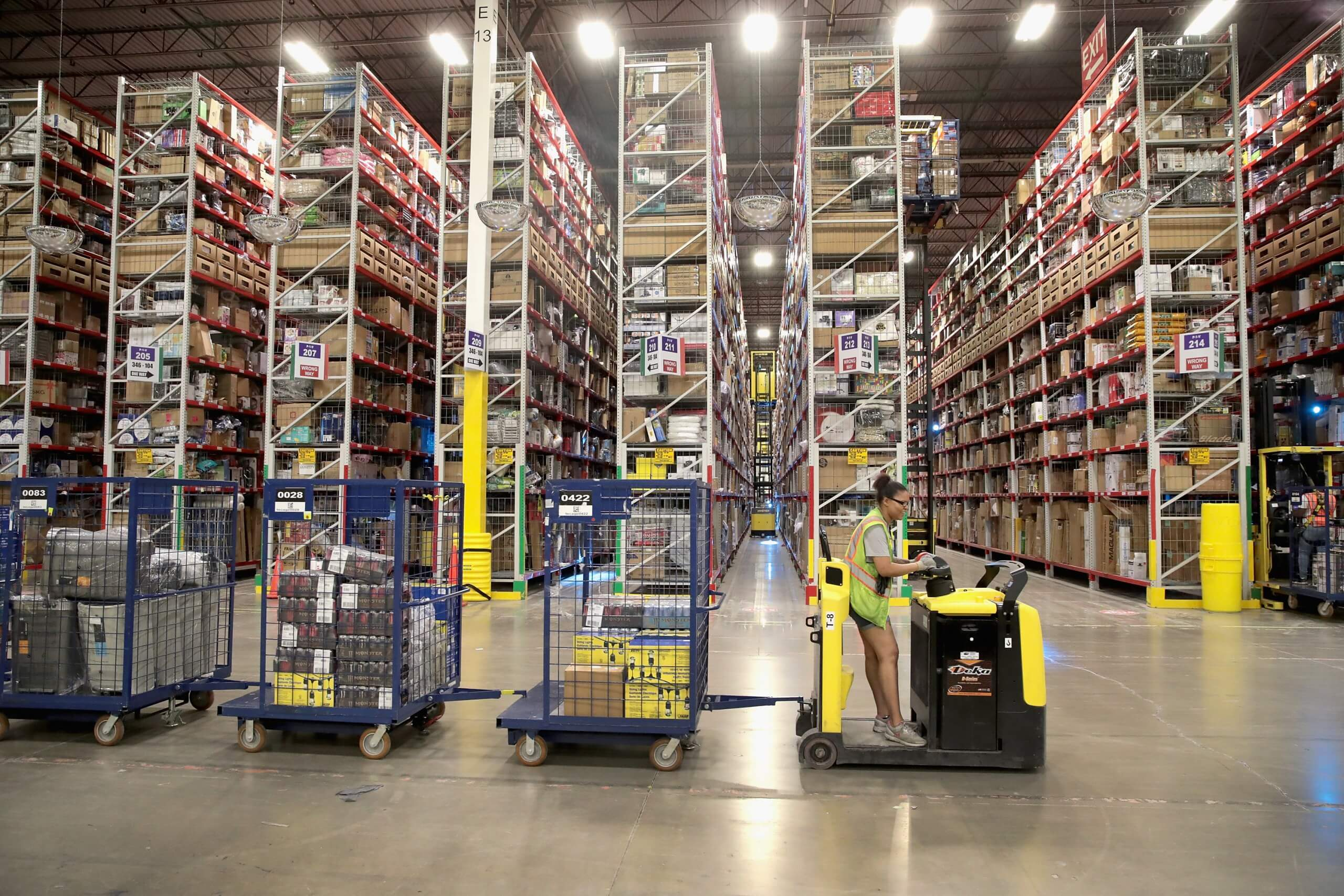 Amazon warehouse robot sends 24 human employees to hospital