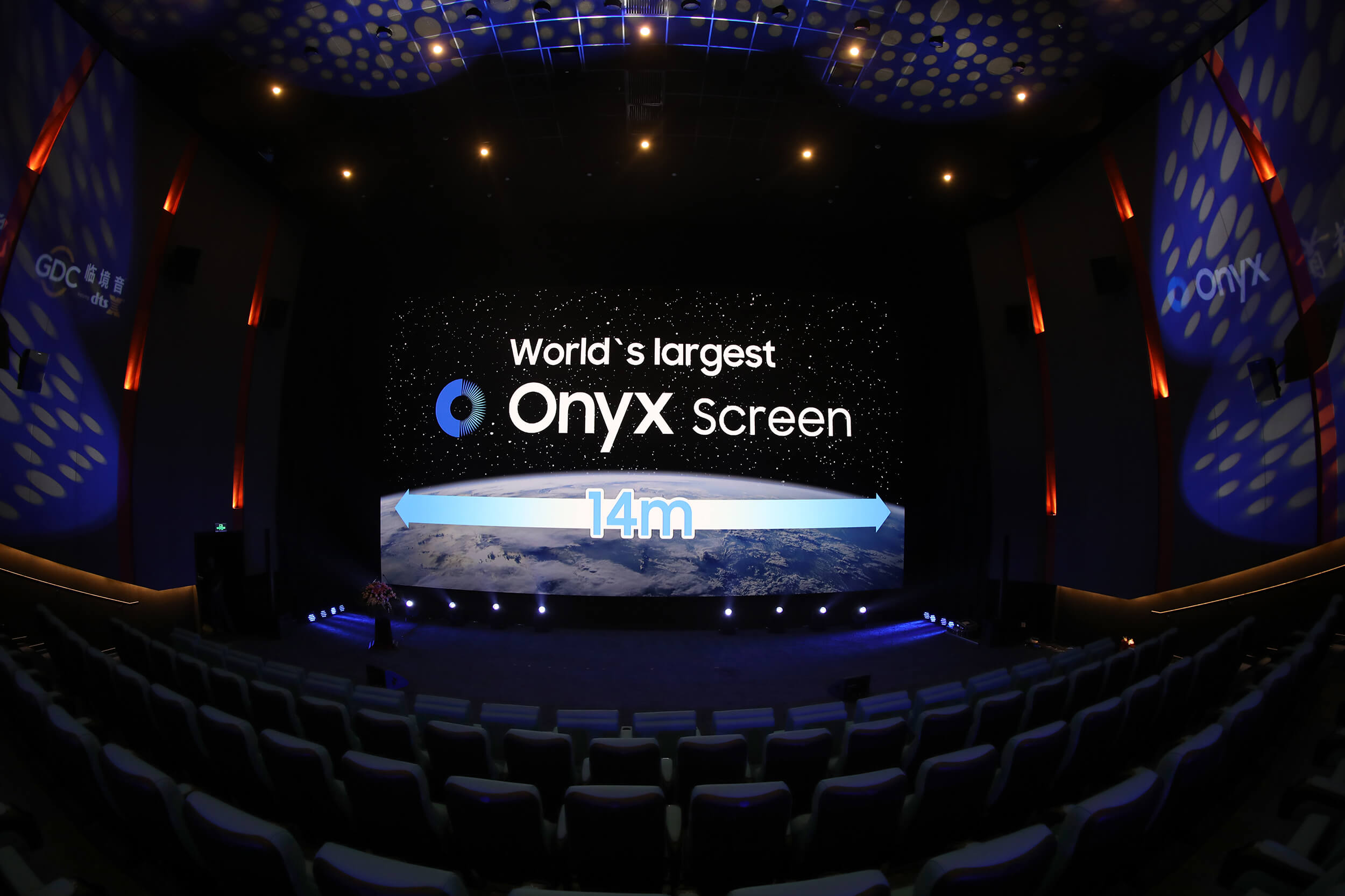 Samsung completes installation of massive 46.2-foot Onyx Cinema display