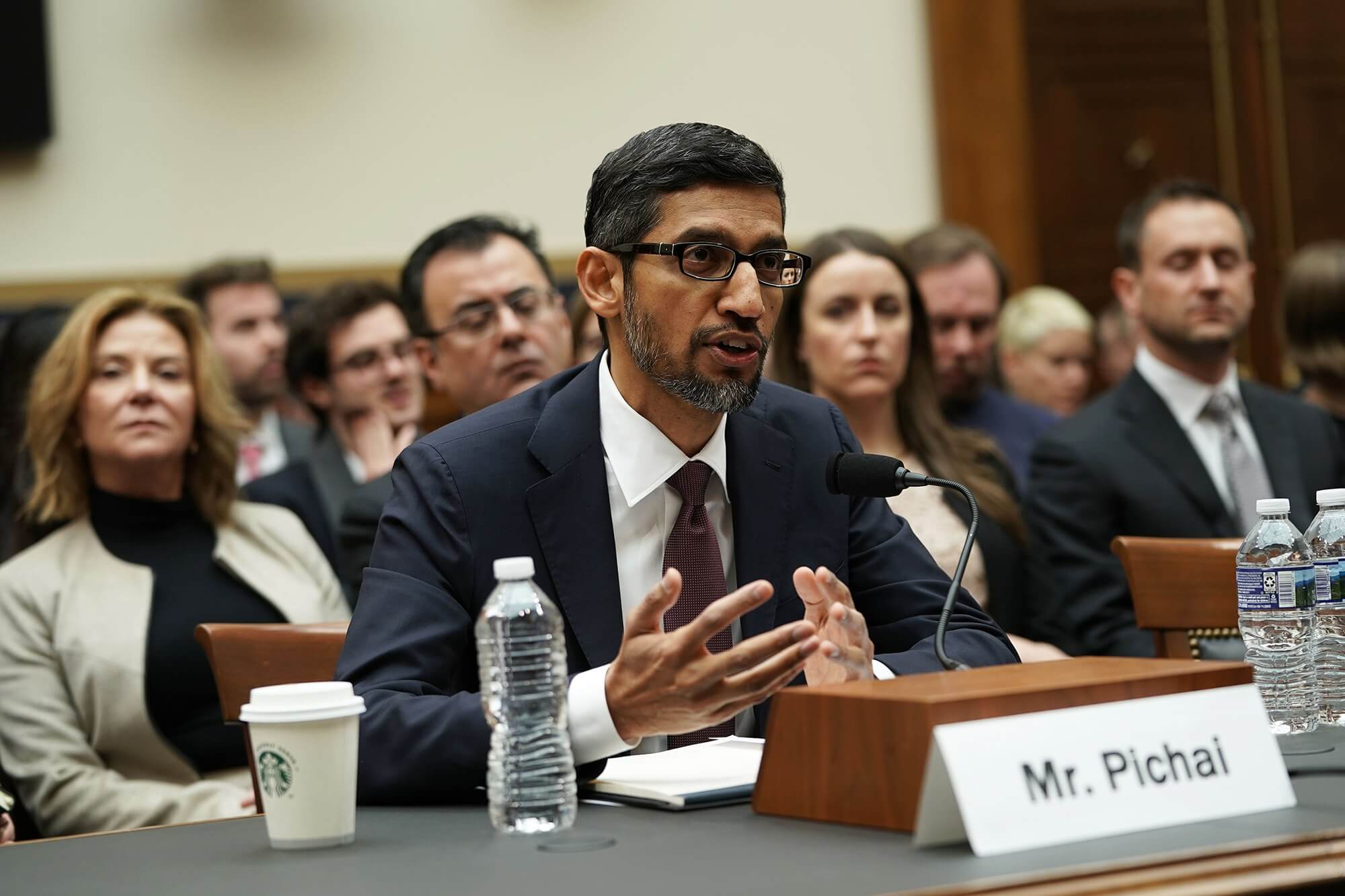 Google CEO Hammered by Members of Congress on China Censorship Plan