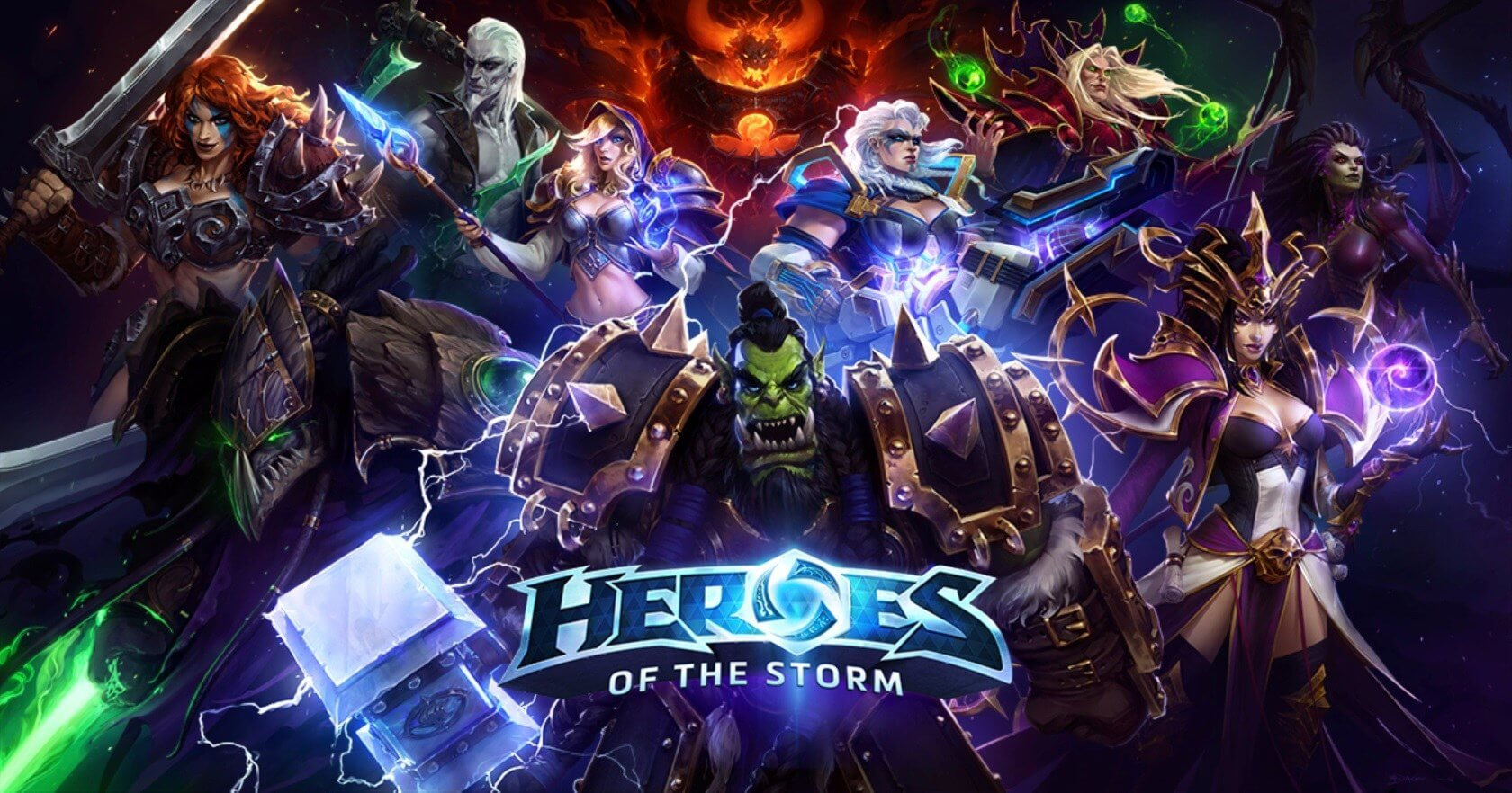 Blizzard shifts developers away from Heroes of the Storm