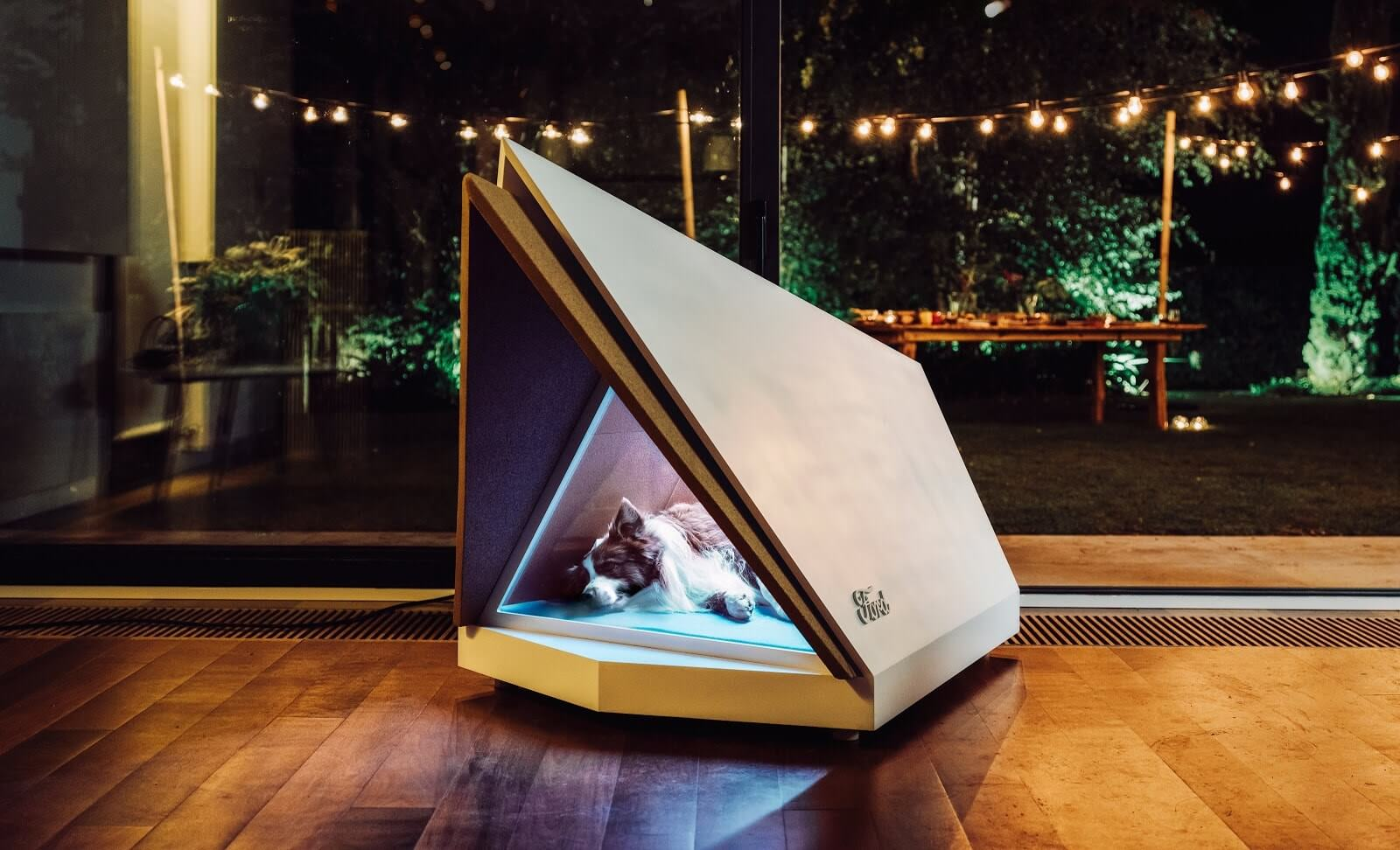 Ford uses vehicle technology to create a noise-cancelling dog kennel
