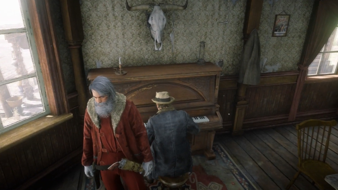 Red Dead Online's Musical NPCs Are Playing Christmas Carols